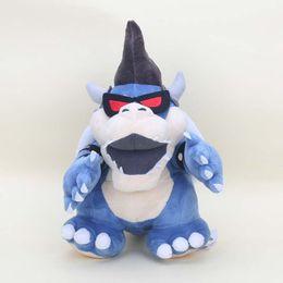 "Wholesale Super Mario Bros Stuffed Animals - New arrival 100% Cotton 11"" 28cm Super Mario Bros Dark Bowser Cute Plush Stuffed Toys For Child Gifts"