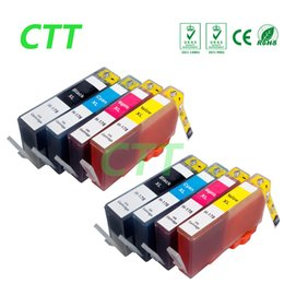 Wholesale Ink For Hp Photosmart - 8 Pack Ink Cartridges HP 178 HP178 Compatible For HP Photosmart C6380 C6300 C5300 C5383 C5380 C6383 D5460 D5400 D5463 printer