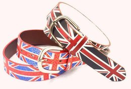 Wholesale Britain Size - Britain flag type retro belt for women,2014 the newest fashion high quality belt,women dress belt,women lovely pant belt