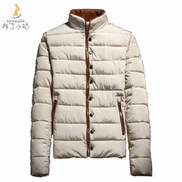 Wholesale Teenage Male Fashion - Fall-2016 new winter male wadded jacket male teenage short design thickening cotton-padded jacket male winter outerwear cotton-padded