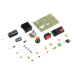 Wholesale Input Modules - Wholesale-In stock! AC DC Input 5V-35V to 1.25V-30V Step Down Power Supply Module LM317 DIY Kit Newest