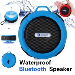 Wholesale Active Subwoofer Speakers - High Quality New Waterproof Dustproof Shockproof Portable Speaker Comprehensive Protection Bluetooth Wireless Active Audio C6 universal