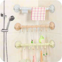 Wholesale Beverage Racks - Strong Suction Sucker Hook Kitchen Bathroom Stainless Tools Creative Fashion Hook Rack Holder Wall Non-nail Waterproof Hanger