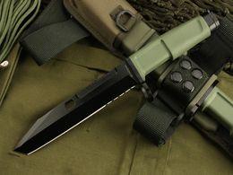 EXTREMA RATIO bayoneta (versión OEM) verde 8CR13MOV hoja 58HRC manejar acampar al aire libre engranaje herramientas EDC cuchillo envío gratis desde fabricantes