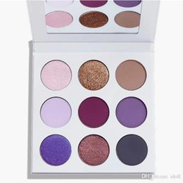 Wholesale Shadow Collection - Factory direct sale Best Newest 9 Color The Purple Palette Eyeshadow Fall collection Eye shadow Cosmetics Palette