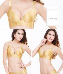 Wholesale More Bra - MOXIAN Sexy girl underwear one piece bra sets brushed smooth and gather together adjustable bra no rims personal and more free TZ31613404L