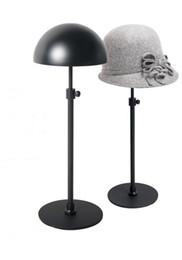 Noir vente chaude réglable support de chapeau de métal en métal / porte-casquette chapeau suspendu noir Livraison gratuite GO ? partir de fabricateur