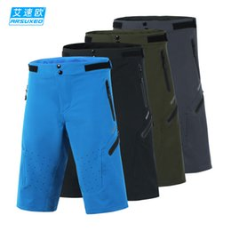 Wholesale Off Road Bicycles - Wholesale ARSUXEO Men's Summer Cycling Shorts Off-road Downhill DH BMX MTB Mountain Bike Bicycle Shorts Outdoor Sports Short Pants