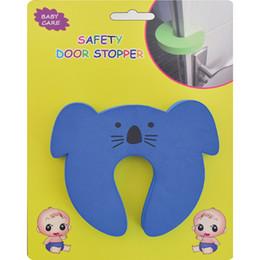 Wholesale Safe Door Stopper - Wholesale- 1pc Baby care Children safe anticollision Corner Guards Baby Safety Door stopper
