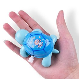 Wholesale Wholesale Windup Toys - Wholesale- Small classic windup toy for children wind up cartoon clockwork plastic turtle bath water toy kid lovely Cute Animal Tortoise