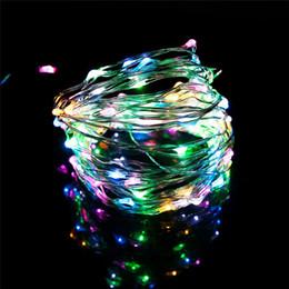 ночная жизнь Скидка USB LED String Night Light 10 м 100 светодиодов Щепка долгой жизни 5 в Рождественский праздник свадьба декор фестиваль Фея лампы