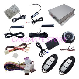 Wholesale Access Entry Systems - PKE Car Alarm System Remote Engine Start Push Button Start Password Access Vibration Warning Remote Trunk Release Auto Power Window Output