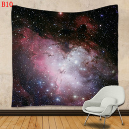 Wholesale God Elephant - IndianTapestry Psychedelic Star Sun God Bohemian Elephant Mat 20 Styles Shawl Wall Hanging Decorative Tapestry Picnic Blanket Mattre Small