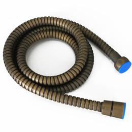 Accesorios de baño Manguera de agua de latón Tubo de tubo Flexible Acabados antiguos para Ducha de mano Bidet Spray 1.5M G1 / 2