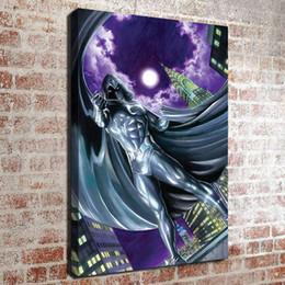 Pintura a óleo da lua on-line-(Sem moldura) Cavaleiro da lua HD Canvas Art Oil Painting Pictures Home Decor Quarto sala de estar cozinha Decoração