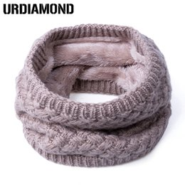 Wholesale Neck Scarves For Women - Wholesale- 2017 New Fashion Winter Scarf For Women Men General Baby Scarf Thickened Wool Collar Scarves Boys Girls Neck Scarf Cotton Unisex