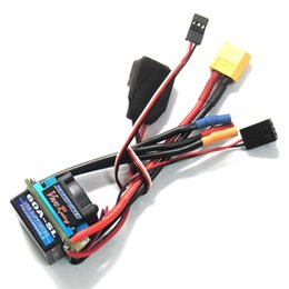 Wholesale Racing Plugs - Hobbypower Racing 60A V2 XT60 Plug BL Speed Controller ESC for RC 1 10 1 12 Car