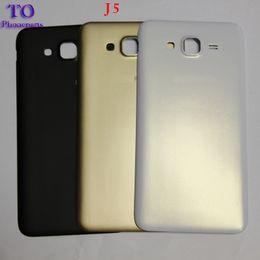 copertine posteriori samsung j1 Sconti Nuovo coperchio della batteria posteriore per Samsung Galaxy J1 J3 J5 J500 J500H J500F J7 J700 2015 batteria Back Case custodia