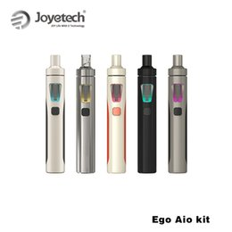 Baterías mod baratas en venta-Almacén ruso Original Kit Joyetech EGo Aio 0.6ohm 1500mah batería kit de cigarrillo de mod e con atomizador de 2 ml barato e cigarrillo