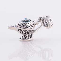 Wholesale Chamilia Pandora Beads 925 Silver - Fits Pandora Chamilia Charms Bracelet Authentic Sterling Silver 925 Beads Magical Kettle European Charm Women DIY Jewelry