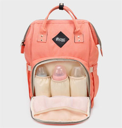 Wholesale Zig Zag Diaper Bag - Fashion Maternity Mummy Nappy Bag Brand Large Capacity Baby Bag Travel Backpack Desinger Nursing Diaper Bag Baby Care backpack women