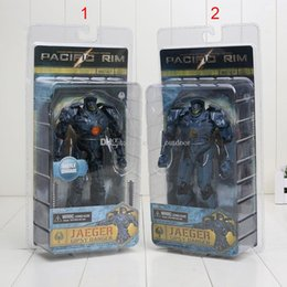 Wholesale 18CM NECA Pacific Rim Jaeger Gipsy Danger and Battle Damage Gipsy Danger PVC Action Figures Collectible Model Toy