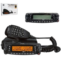 Wholesale Controller Software - Wholesale-Fast Shipping Newest Version 1601A TYT TH-9800 Detachable Front Controller Ham Radio HF Transceiver+USB Cable and Software