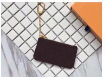 Wholesale Girls Leather Shorts - Amazing Quality Many colors Key Pouch zip Wallet Coin Real Leather Wallets Damier Ebene Women Designer Brand mini girls purse Box