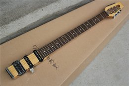 Wholesale Folk Star - Hot Sale MINI star portable travel folk electric guitar with Rosewood Fretboard and Maple Neck,can be Customized