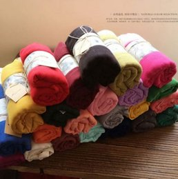 Wholesale Thin Leather Headband - Cottonfabric Scarf Women Luxury Solid Soft Shawls and Scarves Brand Large Foulard femme Fashion Accessories Women Thin Solid Long Scarves Sh