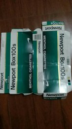 Wholesale Stamped Bag - SELL BOXers Newport 100s hard pack good quailty newport cigarettes stamp Filters cigarettes tobacco 1 lot=5cartons BOXERS GIFT COLLECTION