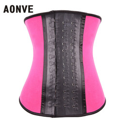 2d3495b7dc fitness waist cinchers Promo Codes - Wholesale- Waist Trainer Latex Corsets  Modeling Strap Corset Firm