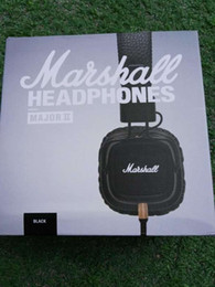 Wholesale Microphone Monitor - AAA+++ Quality Marshall Major II Headphones Headsets with Remote Mic 2nd New Generation VS MARSHALL MONITOR SE215 SE535