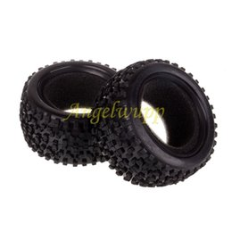 Wholesale Buggy Himoto Rc Car - Wholesale-HSP 06025P Rear Wheel Tyre 2p 1 10 Scale For Himoto Nitro Electric RC Buggy