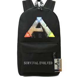 Wholesale Hot Girl Stylish - Steam ARK backpack Stylish school bag Survival Evolved daypack Hot schoolbag New game play day pack