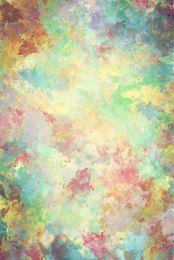 Vintage tapetenabzüge online-Digital Painted Aquarell Fotografie Hintergrund Baby Neugeborenen Vintage Printed Hintergrund Kunst Kinder Kinder Studio Foto Shooting Wallpaper