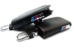 Wholesale Bmw X6 Carbon Fiber - Car Key Wallet,Sport fashion key case,keychain holder cover bag,Leather    M emblem key case for BMW E90 F10 F30 F20 X3 X1 X5 X6