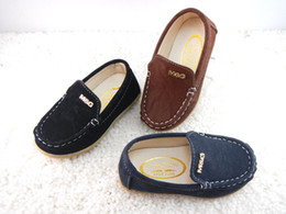 Wholesale Korean Kids Shoes Wholesale - 2016 Korean Kids shoes tendon soles Casual Canvas Shoes Children's Casual Shoes Size 21-36 1 lot = 5 or 6 pairs