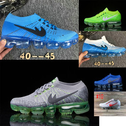 Wholesale Mens Casual Shoes Buckles - 2017 High Quality Arrival VaporMaxes Mens Shock Racer Casual Shoes For Top quality Fashion Casual Vapor Maxes breathable Sneakers Trainers