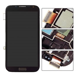 Wholesale Note2 Replacement Screen - for Samsung Galaxy Note2 7102 7100 7108 7105 original LCD display screen digitizer replacement high quality