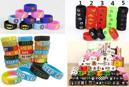 Wholesale Decorative Batteries - Super Batman Captain Hero America Flash Deadpool Punisher Silicone Vape Bands Rings Decorative Ring For RDA Mod eGo Battery Tank Band Free