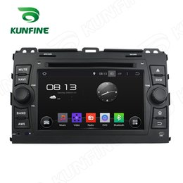 Wholesale Touch Screen Radio For Prado - Quad Core 1024*600 HD Screen Android 5.1 Car DVD GPS Navigation Player for Toyota Prado 2006-2010 Radio Bluetooth Steering Wheel Control