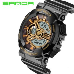Wholesale Men S Sports Luxury Watches - 2016 New Hot Sale Watch Men Sport Watch Waterproof Russian Military G Style S Shock Watches Men's Luxury Brand Relogio Masculino
