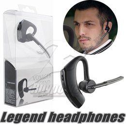 Wholesale Headphone Control Sport - Handsfree business bluetooth headset with mic voice control wireless bluetooth V8 Earphones headphone for sports noise cancelling earphone