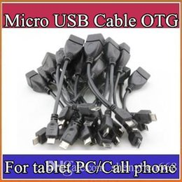 Wholesale Pc Tablet Zte - OTG Cable Micro USB Audio Video For Tablet PC Samsung Lenovo ZTE Huawei Mi Notebook MP3 MP4 MP5 U Disk Adapter Cable C-PS