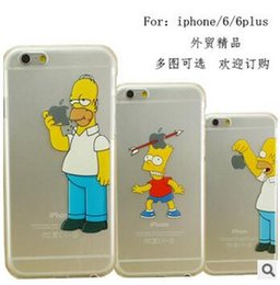 Wholesale Iphone Case Star Minion - 2016 Cartoon Christmas minion Simpson Frozen star wars Snow White Spiderman Mermaid soft PC Cases cover for iphone SE 4 4S 5 5S 6 6S plus