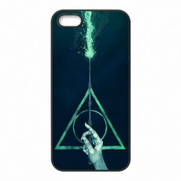 Wholesale Iphone Harry Potter - Harry Potter Phone Covers Shells Hard Plastic Cases for iPhone 4 4S 5 5S SE 5C 6 6S 7 Plus ipod touch 4 5 6