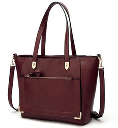 Wholesale Euro Style Bag - Euro-US style,New Women Handbag, Leather Bag ,Shoulder Bags , Femininas Big bag, fashion Hangbag, package N550