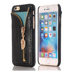 Wholesale Brown Diamond Pendant - For Note 7 Case V-ERUS CaseLuxury PU Leather Case Diamond Zipper Pendant Case Bling Bling Case For Iphone 7 6S DHL Free SCA195