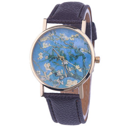Wholesale Wholesale Cheap Dresses For Women - 2016 Cheap Fashion Casual Geneva Watches Leather Flower Watches For Women Dress Quartz Watches Student wristwatch